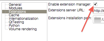 Enable ExtensionsManager